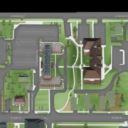 Montana Tech Campus Map