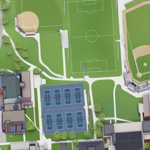 Trinity College Campus Map