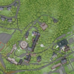 John A Logan Campus Map.Campus Map About Bethany Bethany College