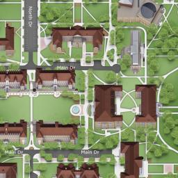 Walsh Campus Map.Tcu Interactive Map