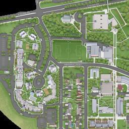California Lutheran University Campus Map.Cal Lutheran Map