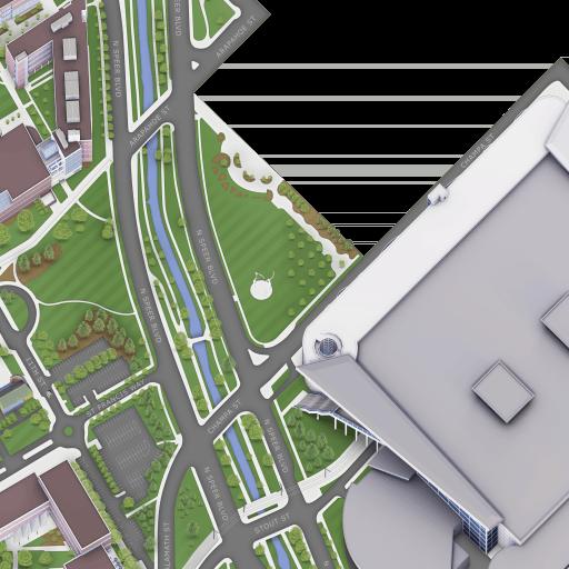 Saint Francis University Campus Map.Campus Map Campus Map Msu Denver