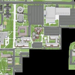 West Texas A&M University Campus Map