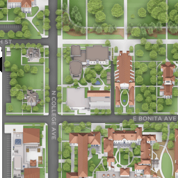 Pomona College Campus Map Campus Map   Pomona College