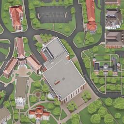 Ole Miss Map University of Mississippi