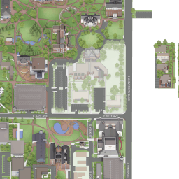 University Of Denver Campus Map World Map Atlas
