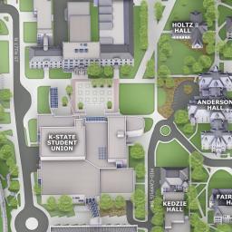 Campus Maps Kansas State University