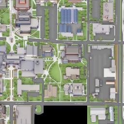 Colorado State University Map Colorado State University