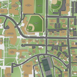 Map Of East Georgia.Gt Georgia Institute Of Technology Campus Map