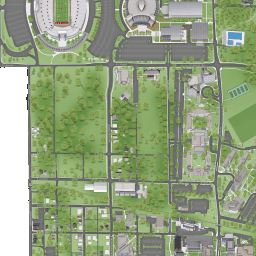Indiana Campus Map.Iu Bloomington Campus Maps Indiana University