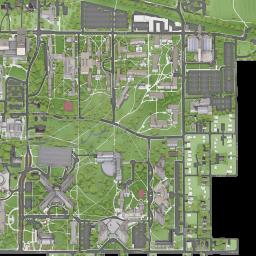 Indiana University Campus Map IU Bloomington: Campus Maps: Indiana University