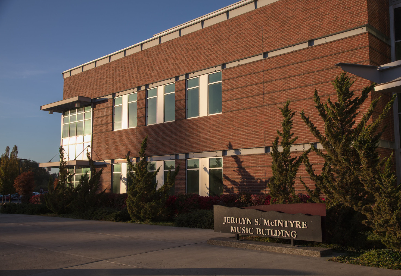 Jerilyn S. McIntyre Music Building