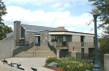 Front of the Freeman International Center