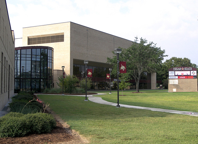 The front of the University Events Center